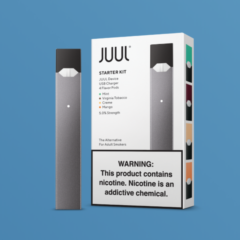 JUUL STARTER KIT (4 UNIT PER ORDER)
