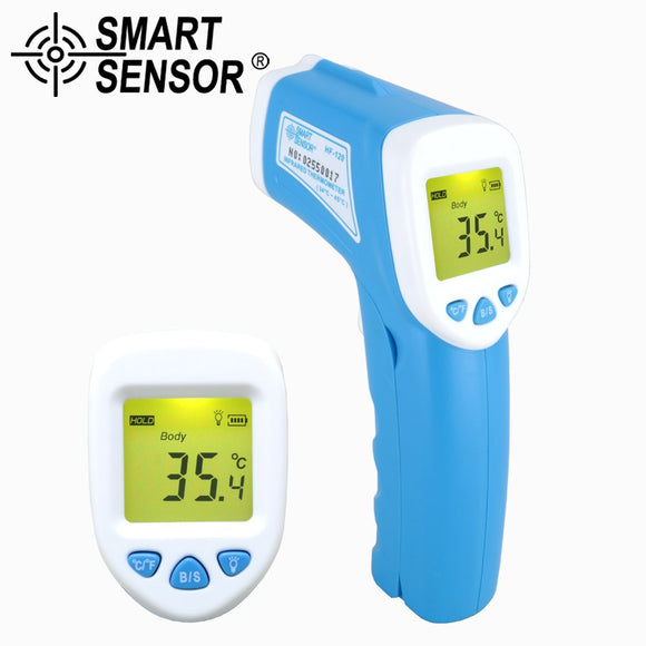 2IN1 Digital Infrared Non-contact Baby Temperature Thermometer