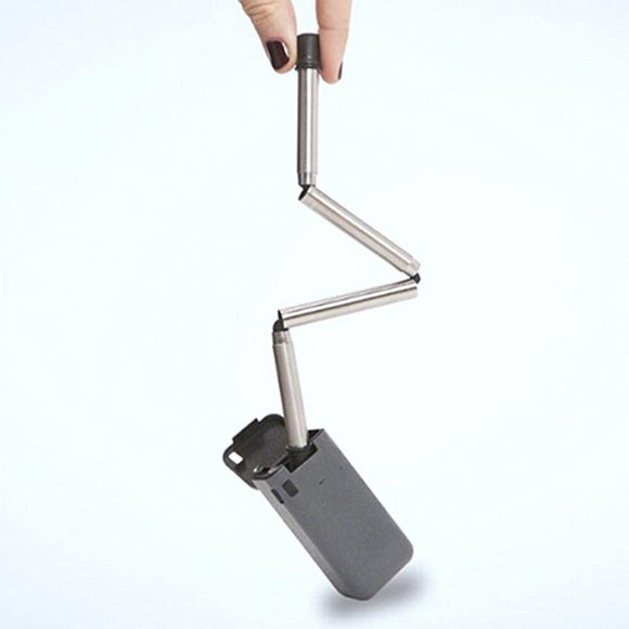 Portable Reusable Collapsible Stainless Steel Straw