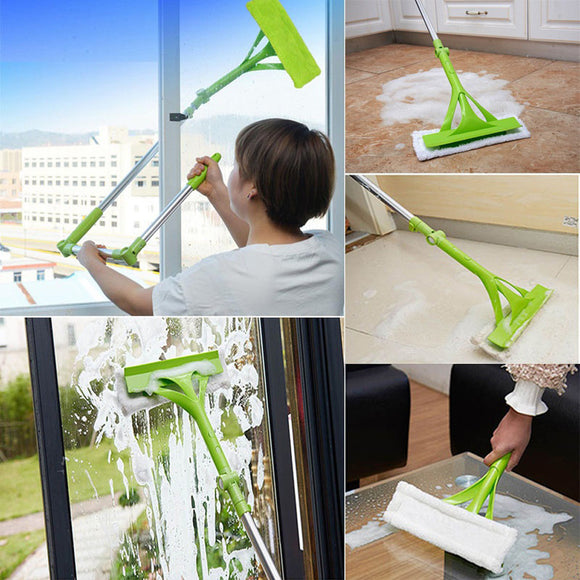 Telescopic Foldable Handle Cleaning Brush