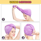 Quick Drying Hair Towel