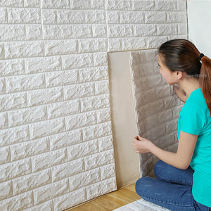 PE Foam 3D Wall Stickers Safty Home Decor Wallpaper