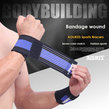 Outdoor Sport Injury Bandage Adjustable Wristbands