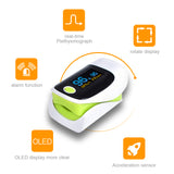 OLED Digital pulse finger oximeter