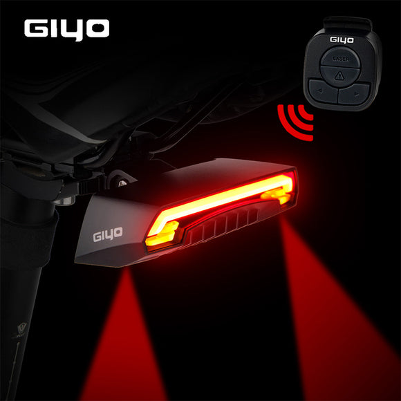 USB Rechargeable Mount Bicycle Led Turn Signals Cycling Light