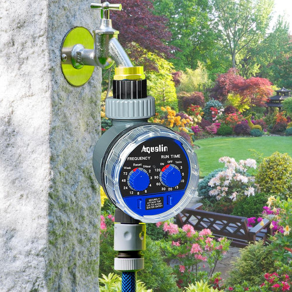 Automatic Electronic Garden Irrigation Water Timer Controller System