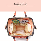 Fashion Large Capacity Mummy Maternity Nappy Bag Travel Backpack