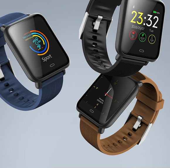 Colour Square Screen Health Monitor SmartWatch