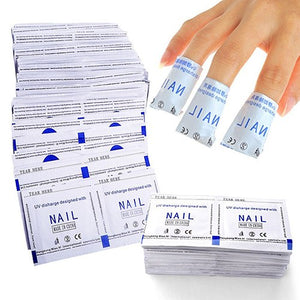 Gel Polish Remover Pads Foil 50pcs