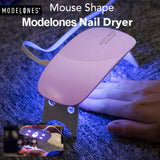Portable Mini UV LED Lamp Gel Nail Dryer
