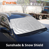 Automobile Sun Shade Cover for Front Window Sunlight Reflection