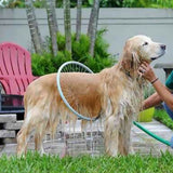 Pet dog cat 360 degree shower sprayer tool