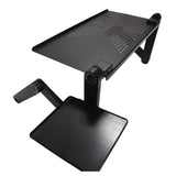 Portable Foldable Adjustable Laptop Table Stand