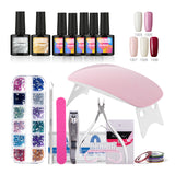 Manicure Art Tools Soak-off Gel Nails Polish Kit