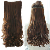 Fake Hair Pieces Long Wavy Hairstyles Synthetic Clip