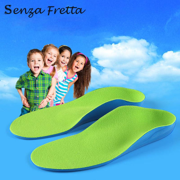 Children Orthopedic Insole for Flat Foot Health Arch Support Cushion