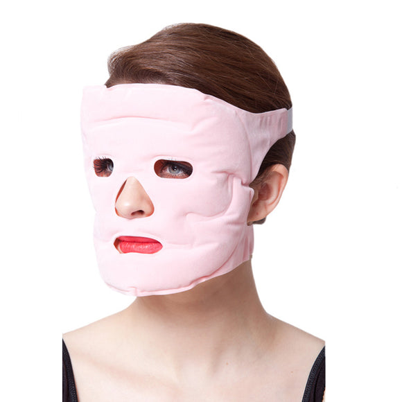 Beauty Face-lift Mask Tourmaline Magnetic Therapy Massager