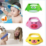 Adjustable Baby Cartoon Shower Cap