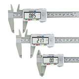 LCD 150mm Digital Electronic Carbon Fiber Vernier Caliper