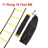 4 Styles 5/8/10/11 Rung Nylon Straps Fitness Training Ladders Equipment