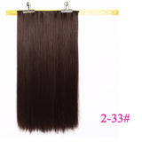 Natural Silky Long Straight Synthetic Wig