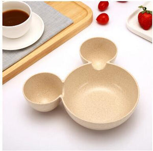 High Quality Mickey Child Wheat Bowl