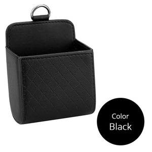 Car Storage Box Leather Organizer