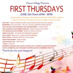 Celebrate First Thursdays on June 5 with Your Friends at Magic Beans Cambridge!