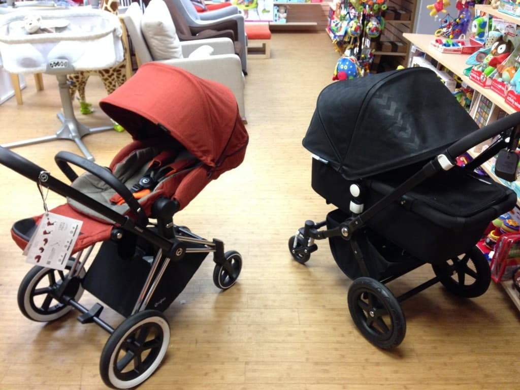 cybex priam two strollers