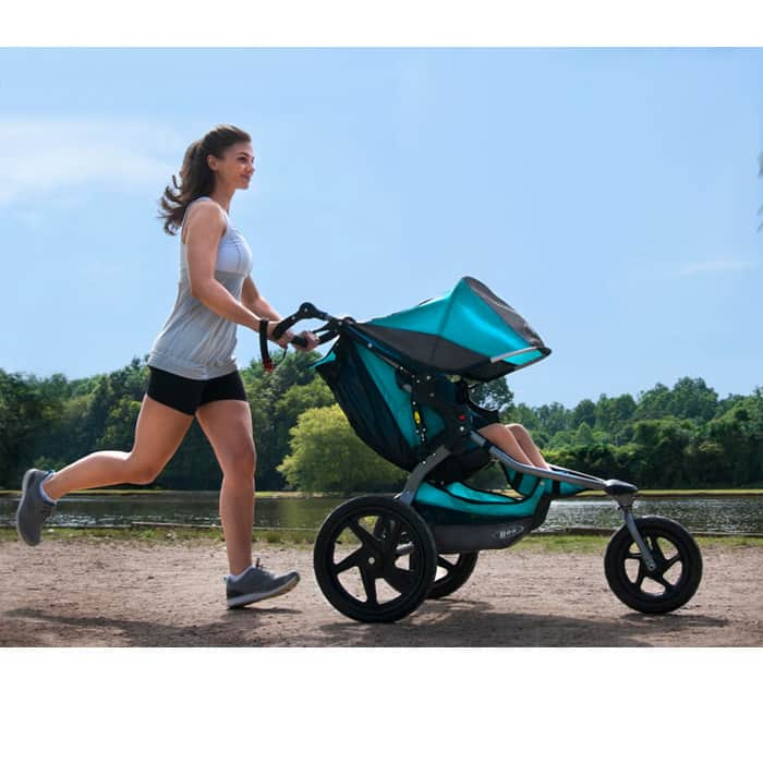 Running with your baby: getting started with jogging strollers