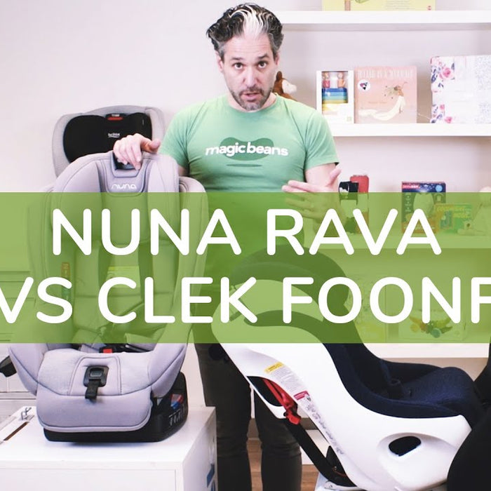 Which top of the line Convertible Car Seat is best for you? | Nuna RAVA vs  Clek Foonf 2020