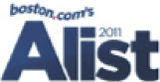 Boston.com's 2011 A List award logo