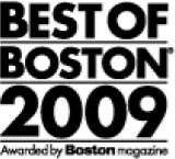 Best of Boston 2009 award logo