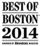 Best of Boston 2014 award logo