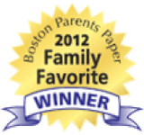 Boston Parents Paper 2012 Family Favorite Winner award logo