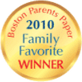 Boston Parents Paper 2010 Family Favorite Winner award logo