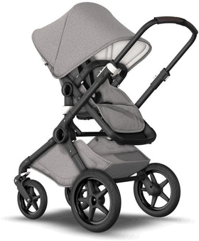 Grey and black Bugaboo Fox stroller
