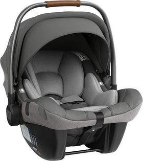 Grey Nuna PIPA Lite LX infant car seat