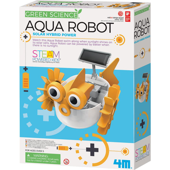 4M Green Science Aqua Robot - Solar Hybrid Power