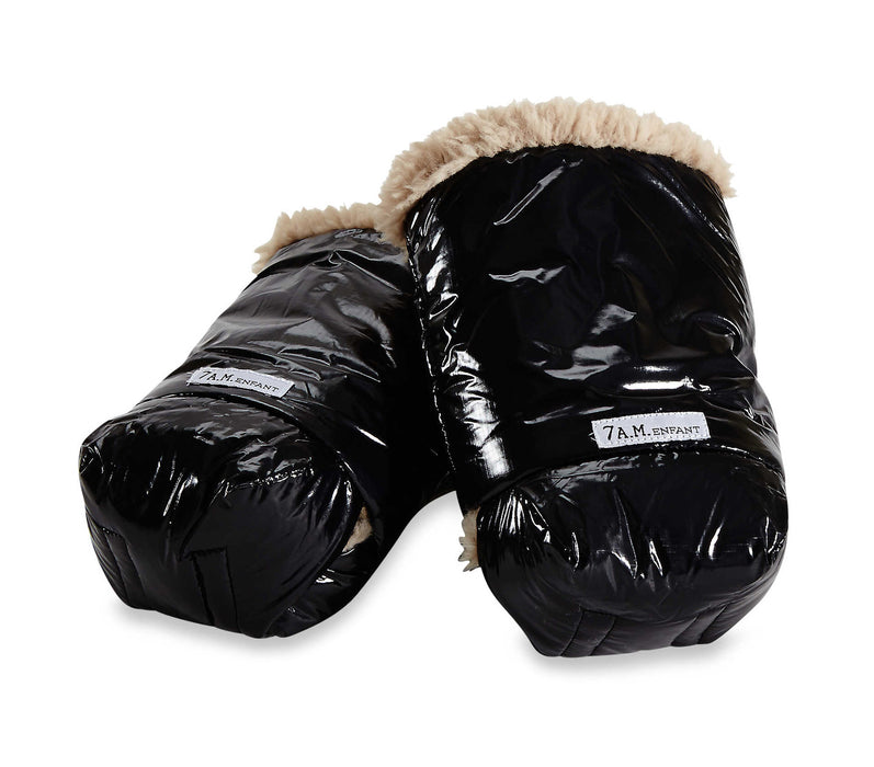 WarMMuffs with Fur - Black