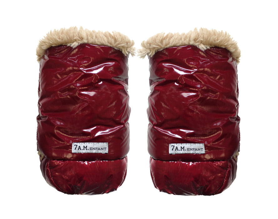 WarMMuffs with Fur - Bordeaux