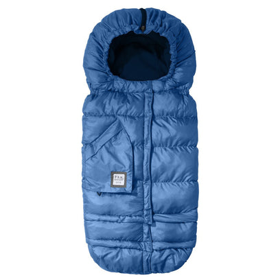 7am Enfant Blanket 212 Evolution - Mtlc Yale Blue