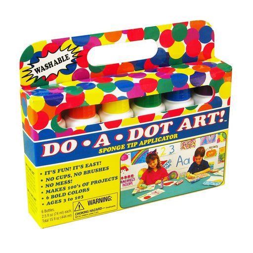 Do-A-Dot Art 6-Pack Primary