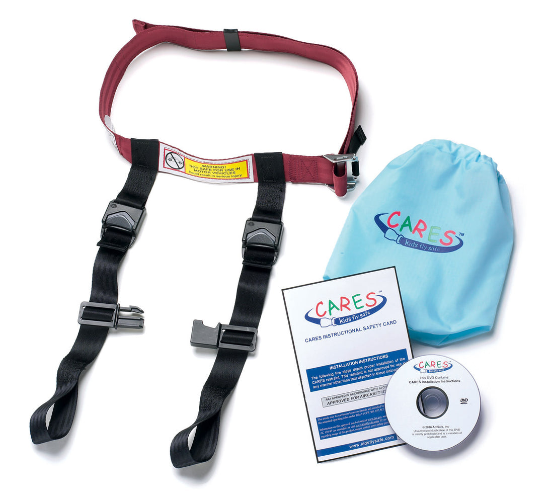 Kids Fly Safe CARES In-Flight Harness