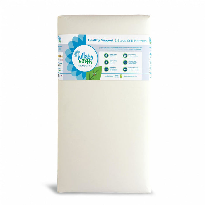 Lullaby Earth Healthy Support Crib Mattress 2 Stg