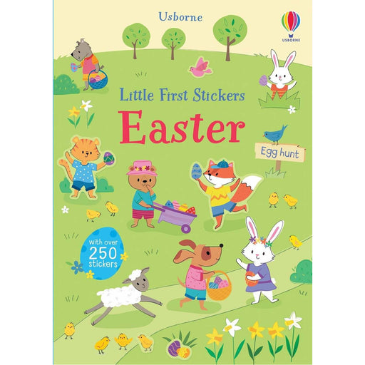 LITTLE FIRST STICKERS EASTER BOOK