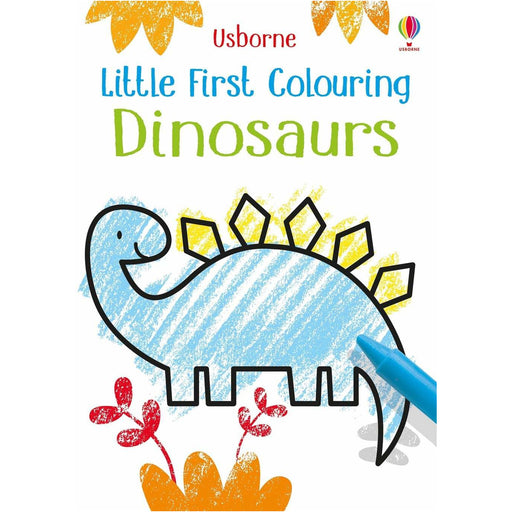 LITTLE FIRST COLORING DINOSAURS