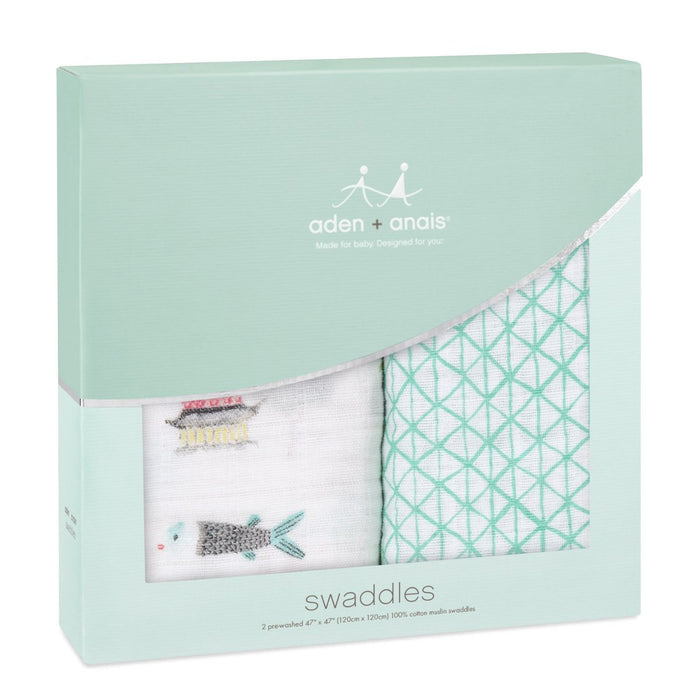 Aden + Anais Classic Swaddles - Around The World