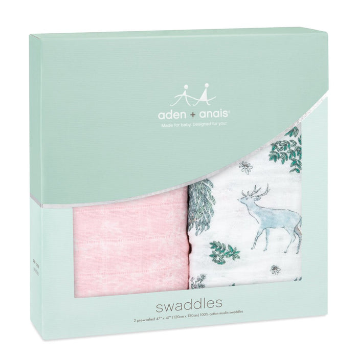 Aden + Anais Classic Swaddles - Forest Friends