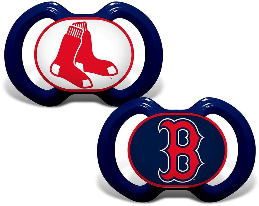 Baby Fanatic Boston Red Sox Pacifiers - Blue/Red
